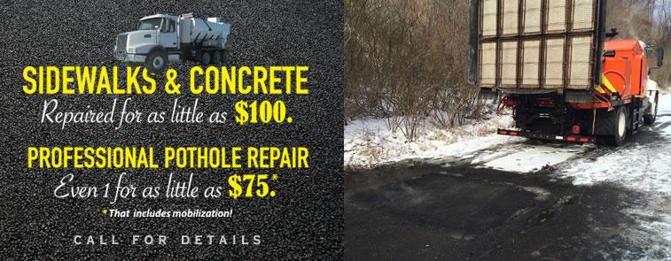 Infrared Asphalt Pothole Repair Amp Concrete Services Nj