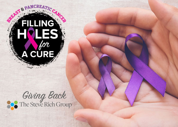 Giving Back : The Steve Rich Group : Filling Holes for a Cure
