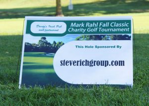 Steve Rich Group Giving Back - Mark Rahl Fall Classic Charity Golf Tournament
